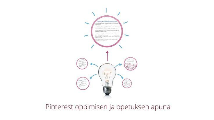 Pinterest opetuksen ja opiskelun tukena