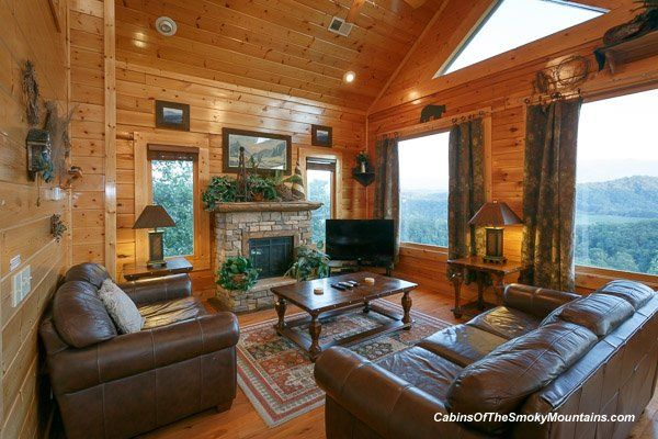 cabin rentals luxury cabin lots of windows pigeon forge cabins