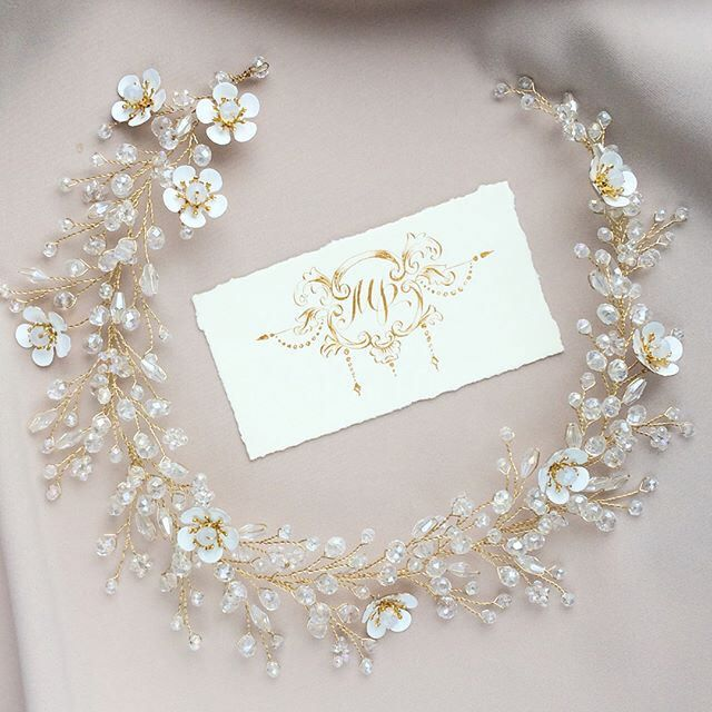 Excited to share the latest addition to my #etsy shop: Bridal hair vine piece Vine bridal gold wreath Bridal crystal vine gold Wedding hair piece vine Flower bridal vine Bridal boho pearl vine #accessories #hair #gold #silver #bridalhairvine #hairvinepiece #vinebridalgold #bridalgoldwreath #bridalcrystalvine