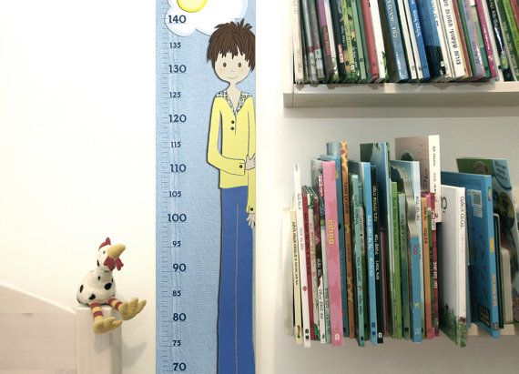 Growth Chart for Boys  Height Chart for Boys  Noah by RotemZ, $22.00