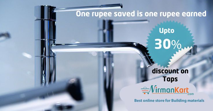Special Discounts on Plumbing And Sanitary Products. Shop online for Taps from top brands like Hindware, Cera.
