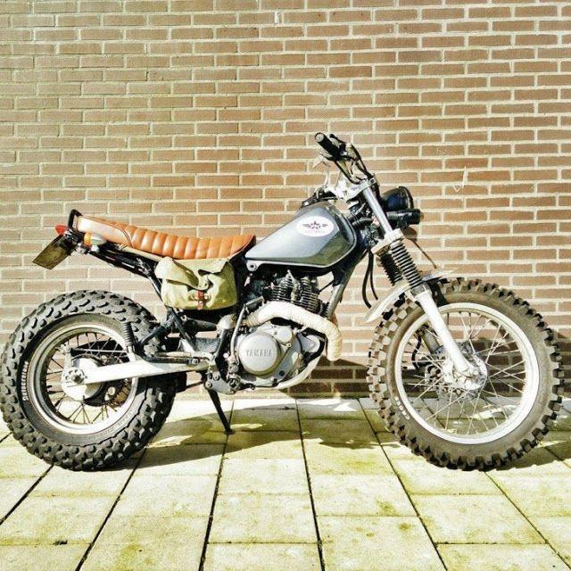 Yamaha TW200 en TW125 custom                                                                                                                                                                                 Mais