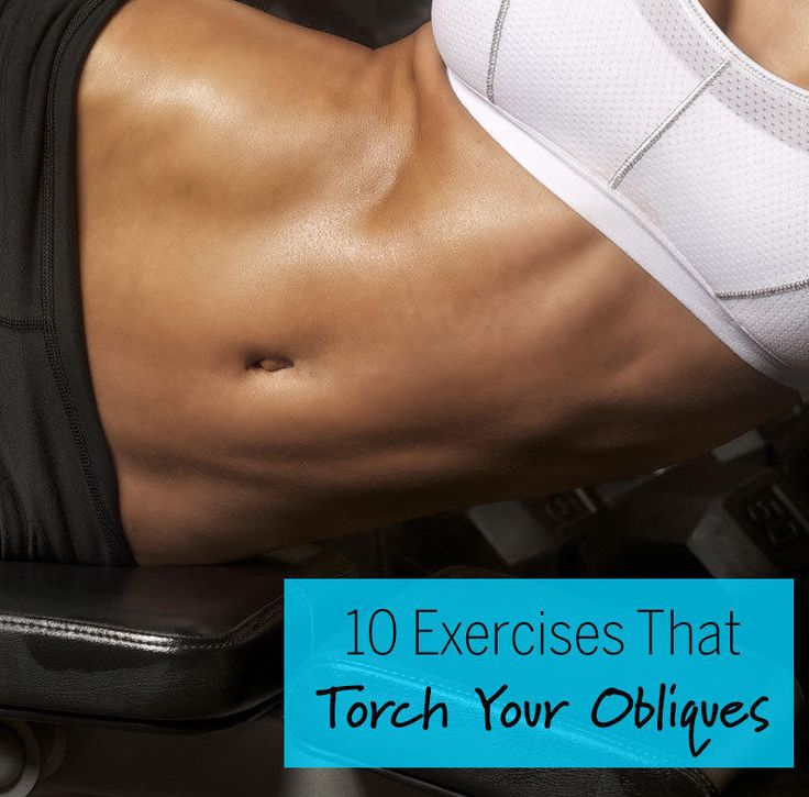 The best exercises to hit your obliques and work your abs all over to get a summer-ready six-pack.