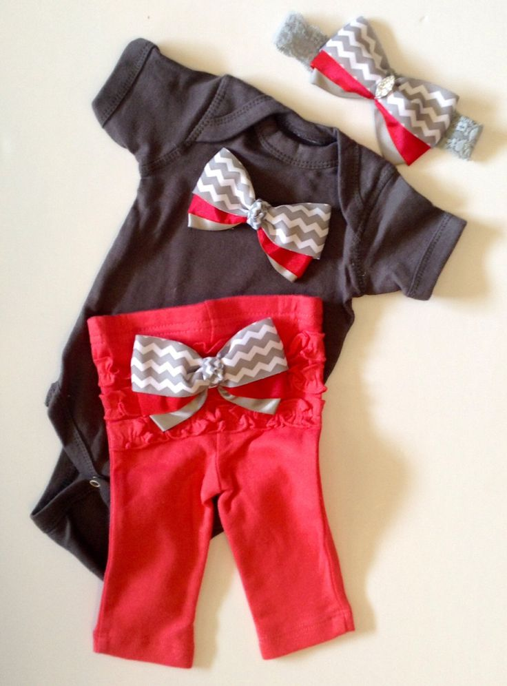 Newborn+baby+girl+Take+Me+Home+outfit+chevron+by+BeBeBlingBoutique,+$40.00