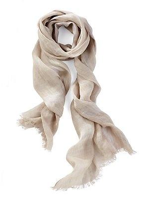 brunello cucinelli cashmere linen scarf