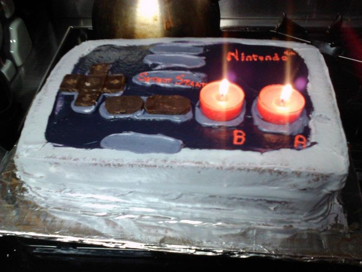 Nintendo Controller Cake 2