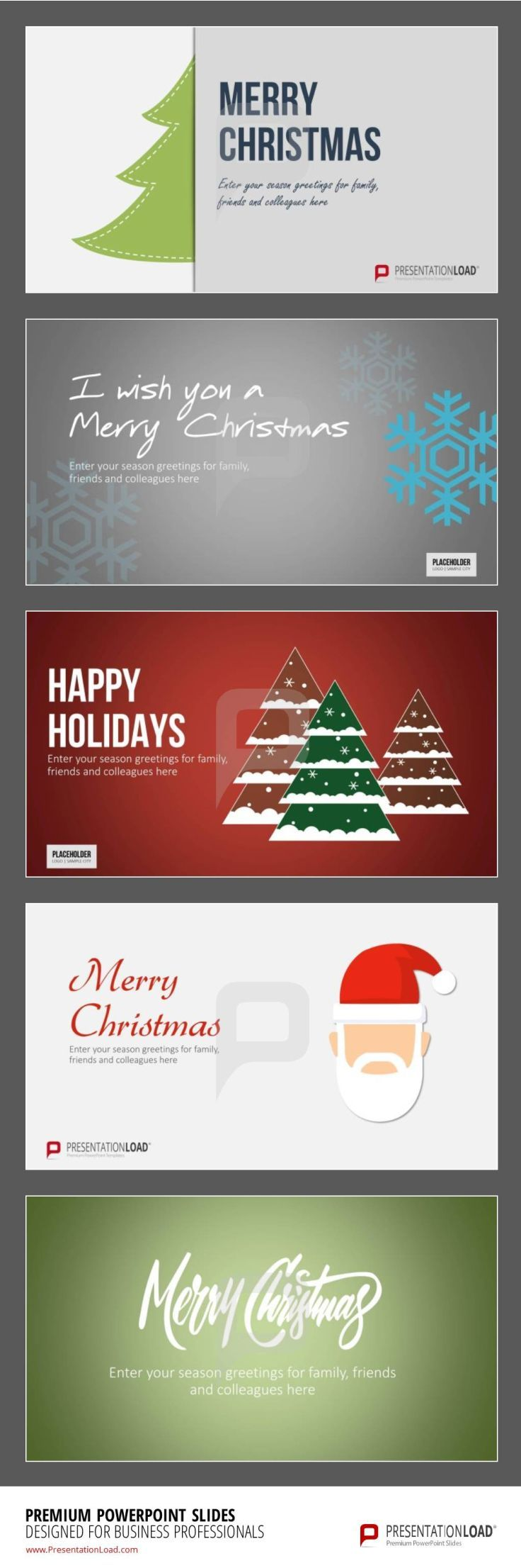 38 best free christmas powerpoint templates images on pinterest