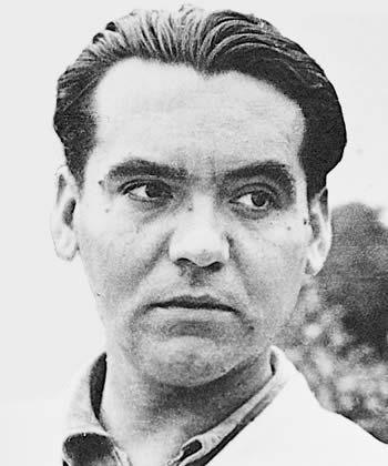 Lorca en los años de su publicación de ''Bodas de sangre'' (1933).