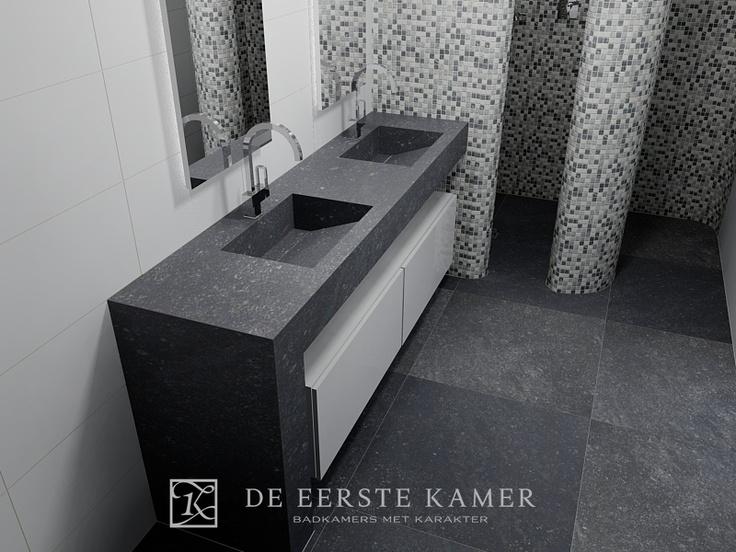 232 best images about badkamer on pinterest bathroom inspiration vanities and sinks - Kamer van rustieke chic badkamer ...