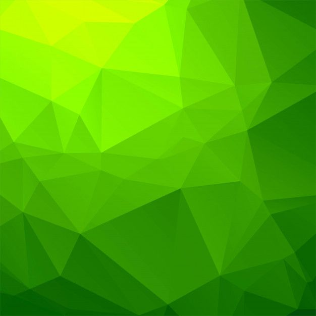 Download Elegant Green Geometric Polygon Background For Free In