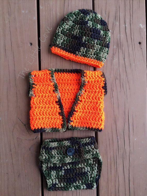 Crochet Baby Hunting Vest Pattern : 17 Best ideas about Crochet Vest Outfit on Pinterest ...