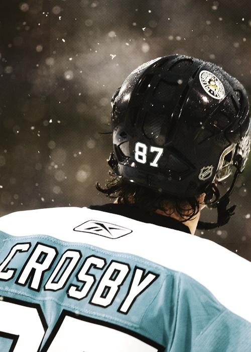 Sidney Crosby (Credit: mattbeleskey)