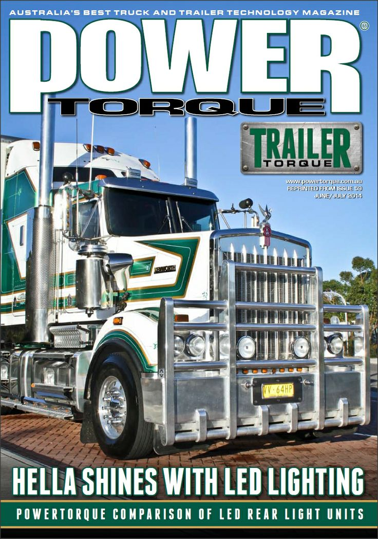 PowerTorque Magazine (Issue 52 June/July 14) HELLA Shines with LED Lighting #hella, #led, #ledlights
