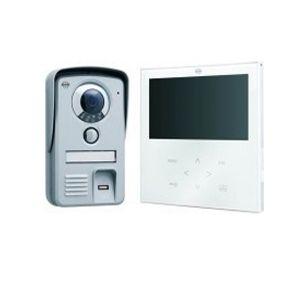 portier vidéo couleur écran 7 pouces avec lecteur d'empreintes digitales
