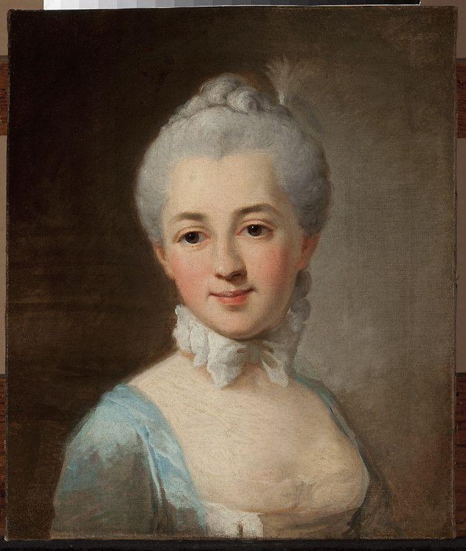 Per Krafft, Portret Izabelli z Czartoryskich Lubomirskiej, 2nd half of 18th century