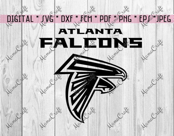 SVG ATLANTA FALCONS logo falcon digital vector by MamaCraft4You
