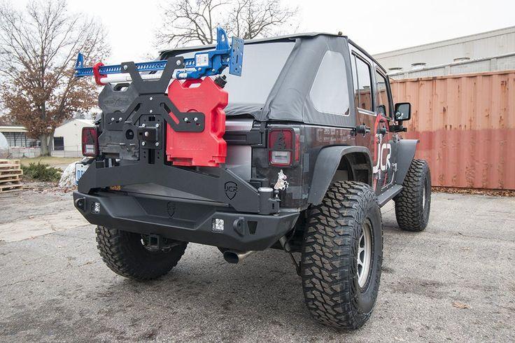 JK Tire Carrier | Adventure | Jeep Wrangler (07-16) - JcrOffroad