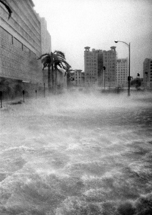 Hurricane Betsy as it came ashore in Miami, 1965. Description from pinterest.com. I searched for this on bing.com/images