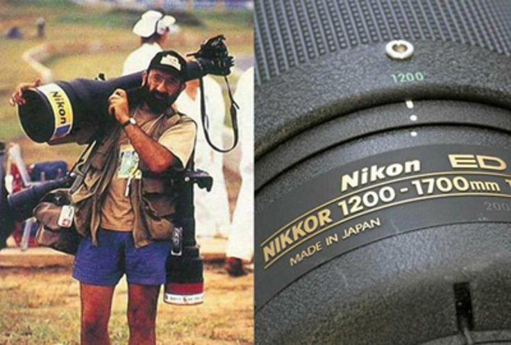 Tudo um Pouco: Uma lente Teleobjetiva de Peso !