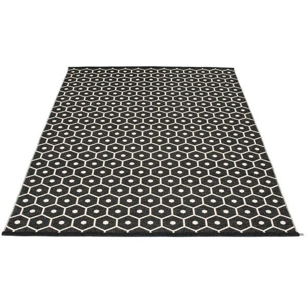 Pappelina Honey Rug ($610) ❤ liked on Polyvore featuring home, rugs, plastic rug, plastic woven rug, machine washable rugs, machine wash rugs and weave rug
