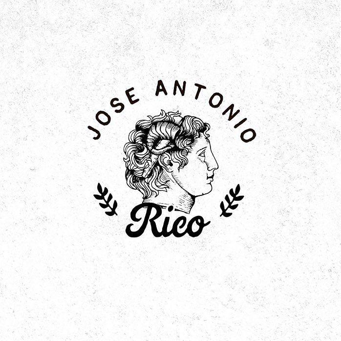 Branding for José Antonio Rico   #branding #logo #artoftheday #illustration #oldschool #oldblackbamboo #handdrawn