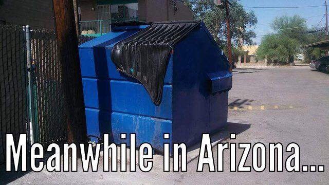 Meanwhile in Arizona | Humor | Arizona humor, Arizona ...