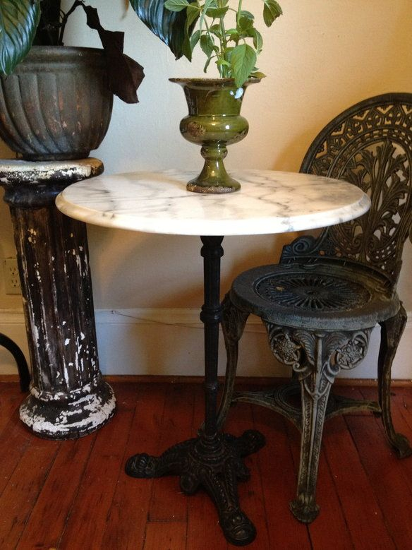 Marble Bistro Table Furniture Marble Bistro Table
