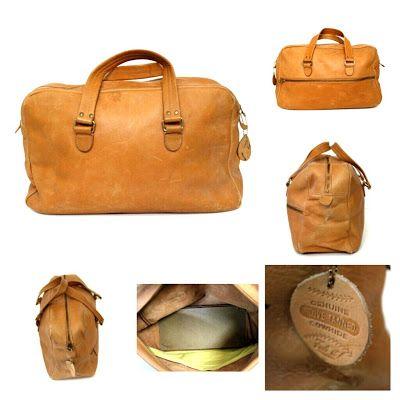 Sacs Magnifiques - Restoration of Fine Vintage Handbags: New Acquisition: 1950's Coach Travel Bag