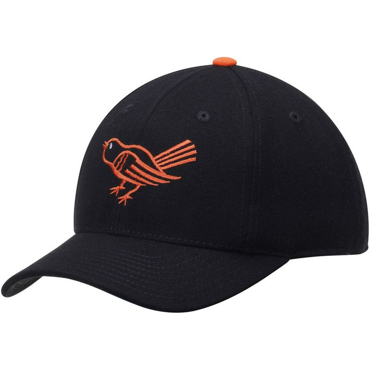 Baltimore Orioles American Needle Historic Replica Cooperstown Fitted Hat - Black
