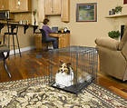 MIDWEST 30 SELECT TRIPLE DOOR FOLDING DOG CRATE 1330TD