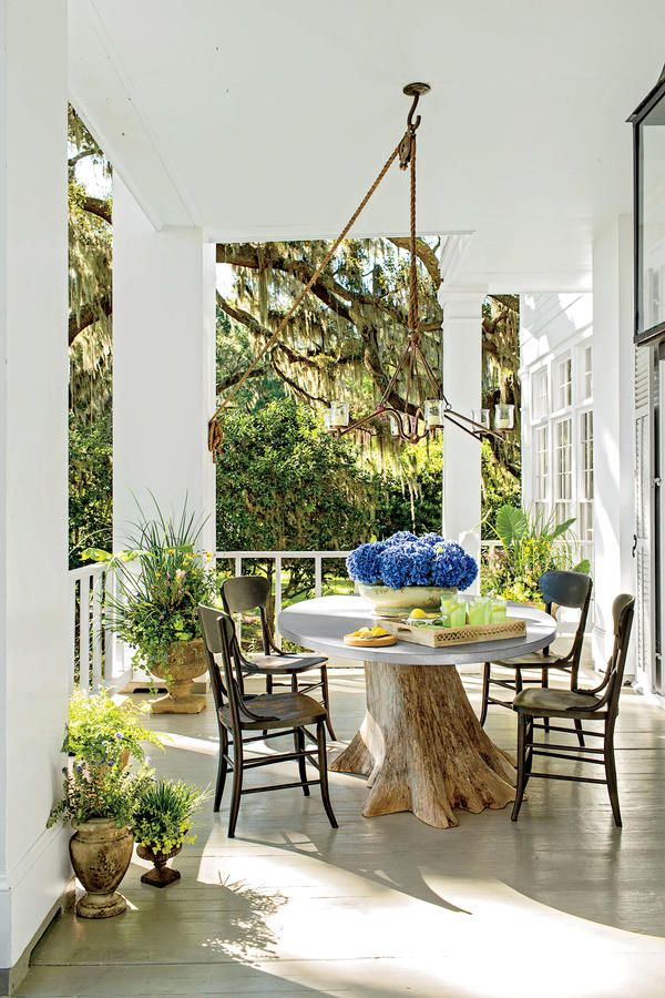 369 best images about outdoor rooms on pinterest pool for Southern front porches