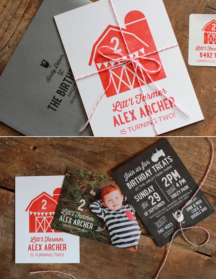design birthday party invitations free%0A Farm Birthday Party Ideas with Printables