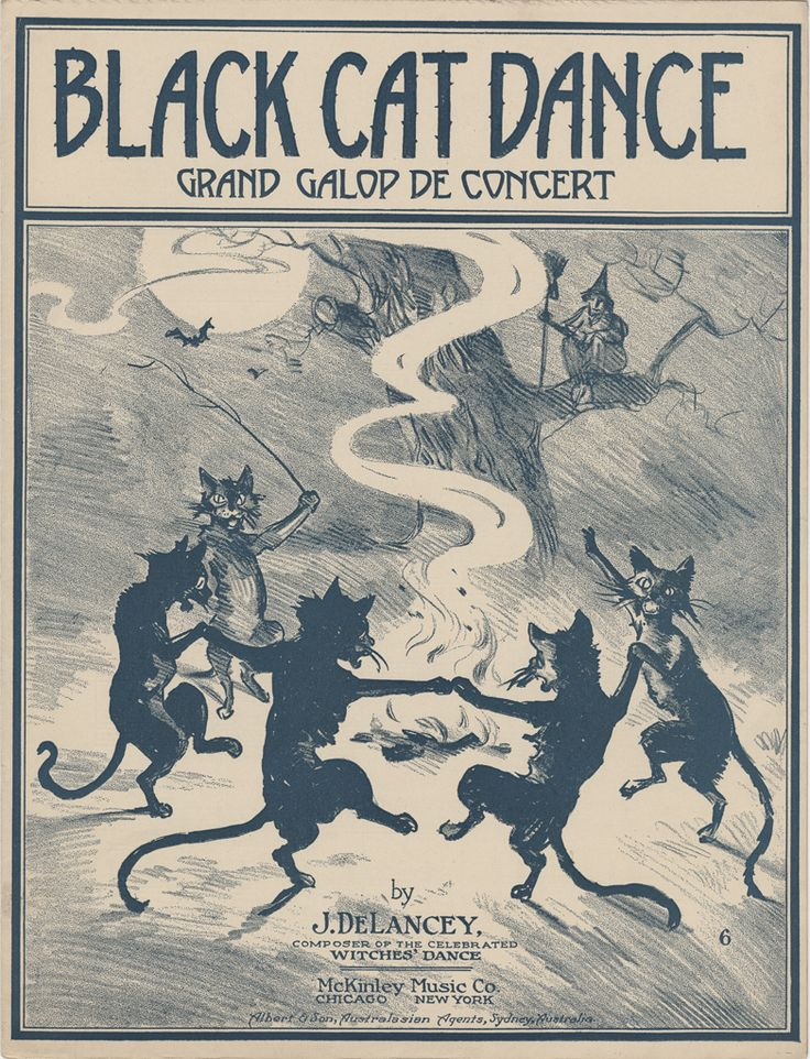 These 1916 #MuseumCats are part of the Sam DeVincent Collection of Illustrated American Sheet Music in the museum's Archives Center.