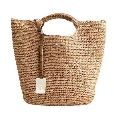 Knit or crochet with raffia