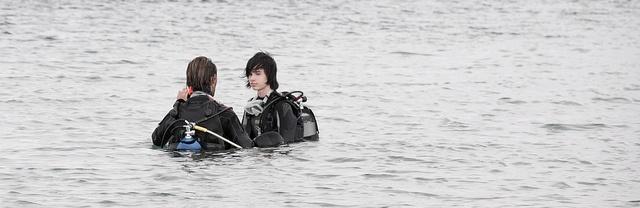 Diving hero
