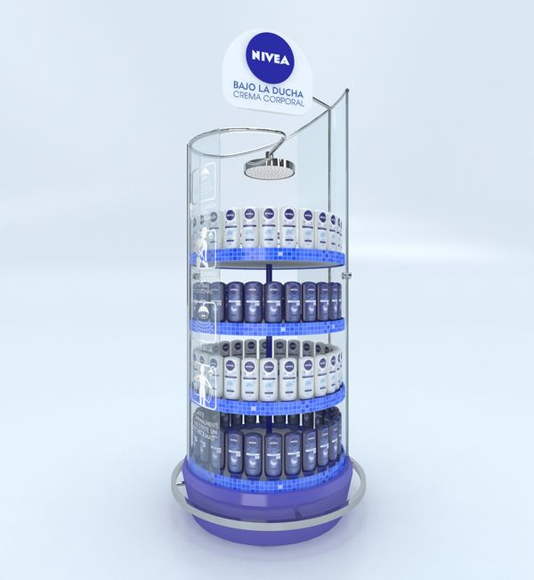 Nivea - Bajo la ducha by Martin Beauchamp, via Behance