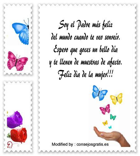 enviar tarjetas por el dia de la mujer por whatsapp,los mejores mensajes y tarjetas por el dia de la mujer: http://www.consejosgratis.es/mensajes-por-el-dia-de-la-mujer-para-una-madre-soltera/