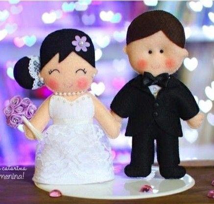 عروسك عروس و داماد نمدي