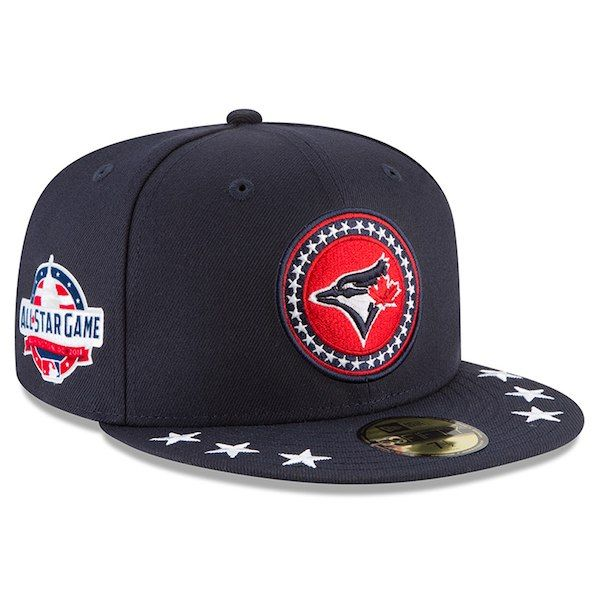 online retailer a8369 5dbe6 Men s Toronto Blue Jays New Era Navy 2018 MLB All-Star Workout On-Field  59FIFTY Fitted Hat
