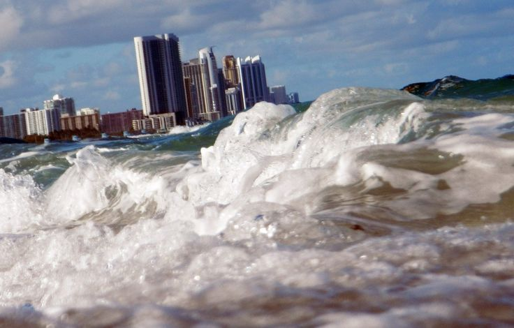 Seas aren't just rising, scientists say — it's worse than that. They're speeding up.