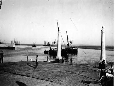 Cais das Colunas, Terreiro do Paço - 1920