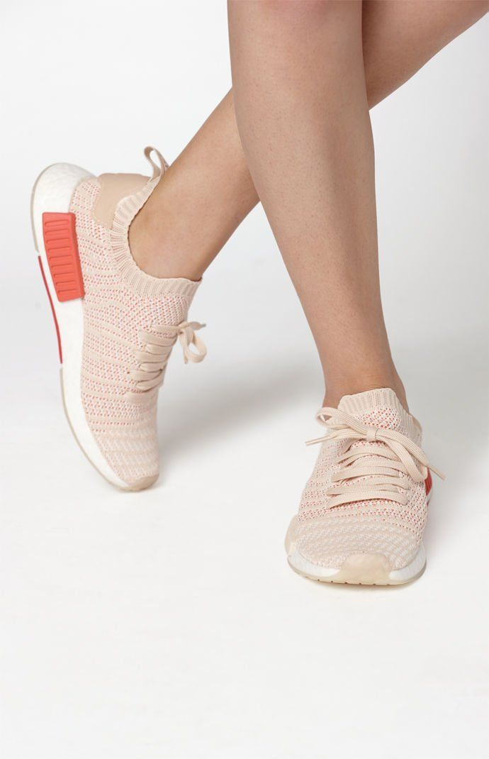 3868ad489 adidas Shoes for Women. Women s Cream NMD R1 STLT Primeknit Sneakers