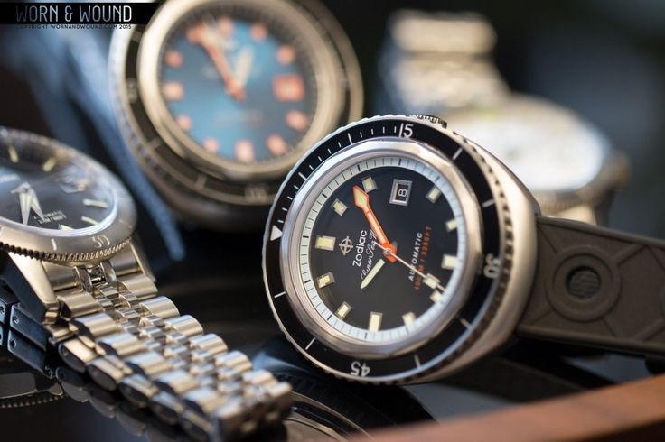 Worn&Wound: ZODIAC WATCHES BRINGS BACK THE SUPER SEA WOLF
