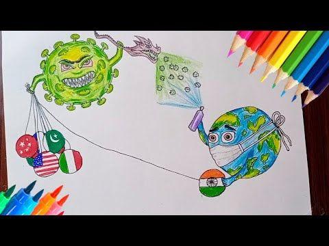 Youtube In 2020 Earth Drawings Drawings Awareness Poster