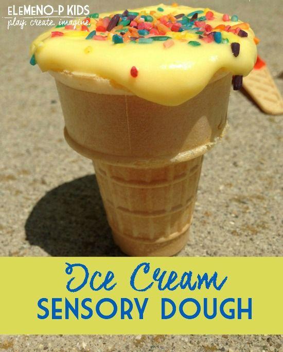 Ice Cream Dough! Cold like ice cream, soft like playdough!