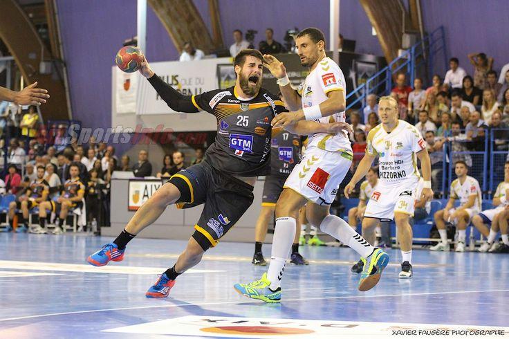 Luka Karabatic contre St-Raphaël