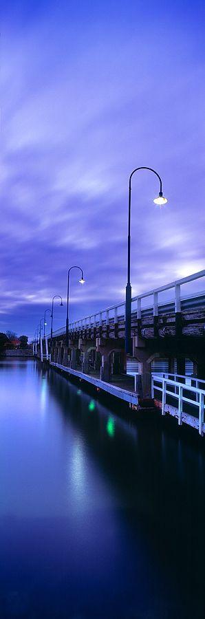 Old Mandurah Bridge, Mandurah . WA