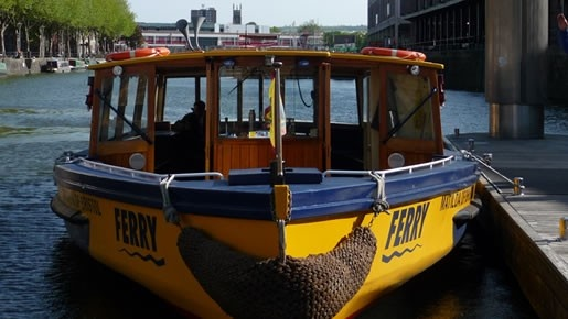 BRISTOL FERRY BOAT COMPANY.    The coolest way to travel :O)