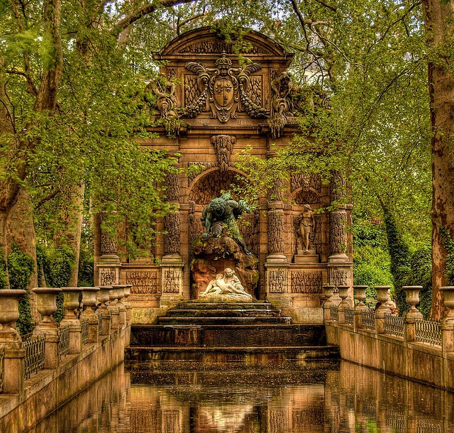 213 best images about jardin du luxembourg paris on pinterest gardens toys and autumn - Fontaine jardin du luxembourg ...