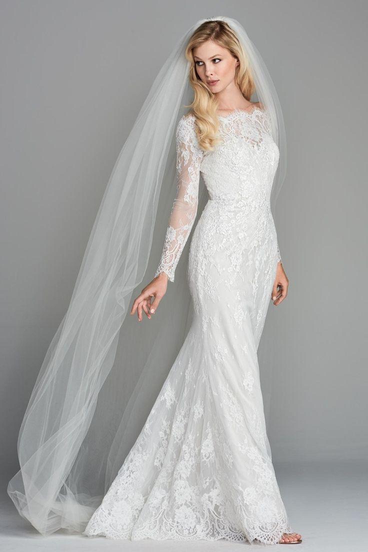 1469 best Modest (tznius) Wedding Gowns images on Pinterest | Amor ...